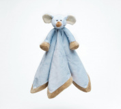 Teddykompaniet Soft Cuddle Blanket / Comfort Blanket - Blue Mouse