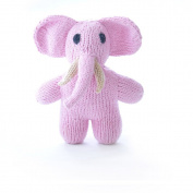 ChunkiChilli Organic Cotton Mini Elephant - Pink