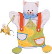 Doudou et Compagnie PUP1625 25cm Cat and Mouse Puppet