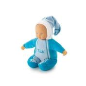 Puppe blau mit Spieluhr 30cm