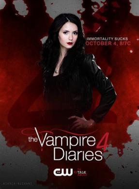The Vampire Diaries: Season 4 (DVD Only) (5 Discs)
