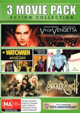 Sucker Punch / V for Vendetta / Watchmen: The Complete Motion Comic