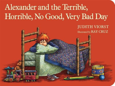 Alexander and the Terrible, Horrible, No Good, Very Bad Day (Classic Board Books) [Board book]