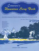 Hawaiian Song Book