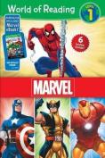 Marvel Level 1 World of Reading Boxed Set