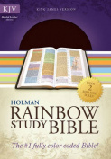 KJV Rainbow Study Bible, Brown Bonded Leather