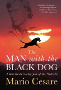 The man with the black dog