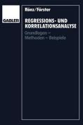 Regressions- Und Korrelationsanalyse [GER]