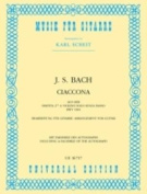 Ciaccona (from BWV 1004) for Guitar