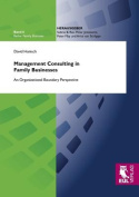 Management Consulting in Family Businesses