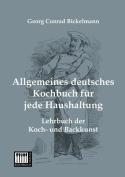Allgemeines Deutsches Kochbuch Fur Jede Haushaltung [GER]