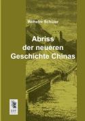 Abriss Der Neueren Geschichte Chinas