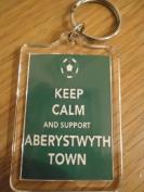 Aberystwyth Town F.C - Keep Calm Key Ring