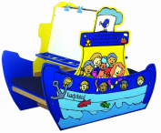Santoys - Wooden Toys - Children's Furniture - Fun Boat