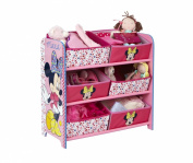 Minnie Mouse 6-Bin Storage
