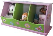 Liberty House Toys 3-Bin Storage Unit for Girls
