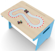 Millhouse Children's Race Track Toy Box and Desk