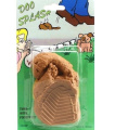 NEW FAKE DOG POO WITH FOOTPRINT PRACTICAL JOKE NOVELTY