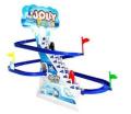 Digo Jolly Penguin Climbing Stairs Track Toy