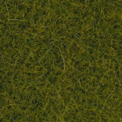 "All Scale Static Wild Grass 40ml 40g -- Bright Green, Extra Long Fibres 1/2"" 1.2cm Long"