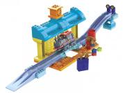 Mega Bloks Chuggington Construction Train-96611 Repair Shed