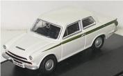 Oxford Diecast Ford Cortina MkI in White - 1/76 Diecast Model