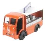 Classix EM76638 NCB Electric Milk Float United Dairies