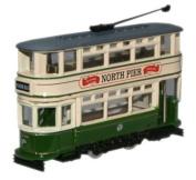 Tram - Blackpool Tram in N gauge from Oxford Diecast Omnibus