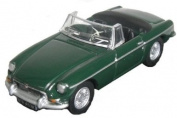 Oxford Diecast MGB British Racing Green - 1/76 OO Scale Diecast Model