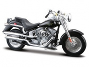 Harley Davidson Fat Boy FLSTFI (2004) Diecast Model Motorbike by