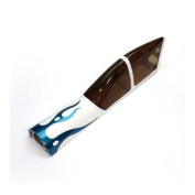 PRECISION AEROBATICS Addiction X Tinted Canopy Hatch - Blue
