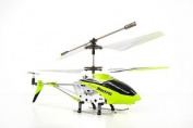 Syma S107 S107G 3 Channel Infrared Controlled Helicopter with Gyroscopic Stability Control Green