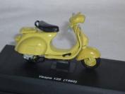 VESPA 125 1960 GELB 1/43 NEW RAY MODELLMOTORRAD MODELL MOTORRAD