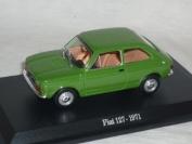Fiat 127 1971 Groen 1/43 De Agostini Modell Auto Modellauto