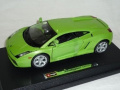 Lamborghini Gallardo Coupe Groen 1/24 Bburago Burago Modellauto Modell Auto