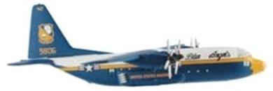 Postage Stamp Planes C-130 Hercules 'Fat Albert' Transport Diecast Model