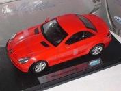 Mercedes-Benz Slk-klasse W171 Slk350 Rot Red Coupe Metallmodell 1/18 Welly Modellauto Modell Auto
