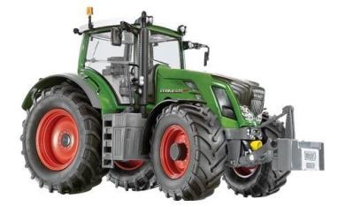 Siku 7307 Model Tractor Fendt 828 Vario Assorted Colours