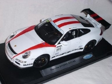 Porsche 911 991 GT3 RS White Cup Version Edition Nürburgring 1/18 Welly Model Car