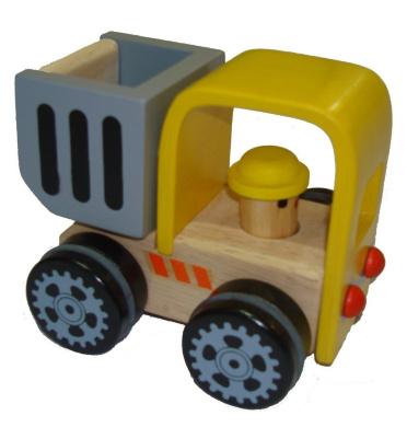 Santoys - Wooden Toys - Dump Truck