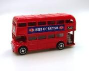 Elgate Die Cast Metal Red London Bus Money Box