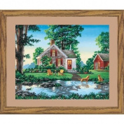 Paint By Number Kit 50cm x 41cm -Summer Cottage