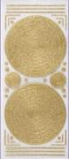 Glitterations - Frames Circle Gold