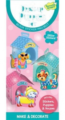 Peaceable Kingdom Quick Sticker Kits - Puppy Paper Dolls