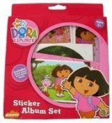 Nick Jr Dora The Explorer Sticker Album Set [Toy]