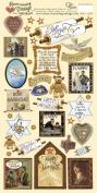 Heartwarming Vintage Cardstock Stickers 15cm x 30cm Sheet-Jewish Celebrations