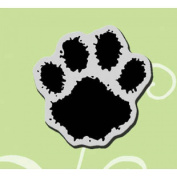 Stampendous Cling Rubber Stamp 3.2cm x 3.2cm Sheet-Large Paw