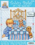 Tobin Baby 90cm x 43 Inch Stamped Cross Stitch Quilt - Boy Bedtime Prayer