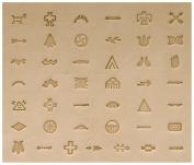 Native American Stamp Set, Symbol