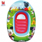 Mickey Mouse Clubhouse Kiddie Raft - Mickey & Minnie Inflatable Boat